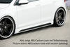 VW Golf 7 12- Накладки на пороги carbon look