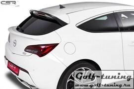 Opel Astra J GTC 12-15 Спойлер на крышку багажника