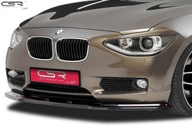 BMW F20/F21 11-15 Накладка на передний бампер Cupspoilerlippe глянцевая