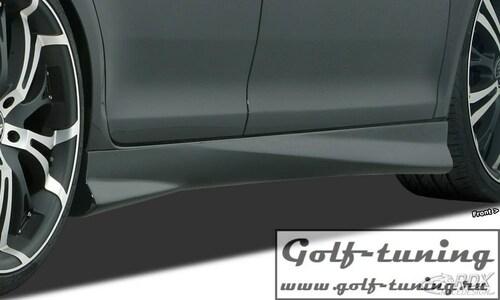 "Chevrolet Aveo T300 Накладки на пороги ""Turbo"""