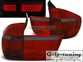 BMW X5 07-10 Фонари светодиодные, красно-тонированные