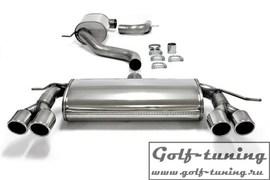 VW Golf 5/6 /Audi A3 8P Catback выхлоп с разводкой 2x80mm