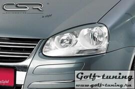 VW Golf 5/Jetta 5 03-10 Реснички на фары