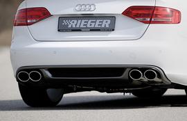 Audi A4 B8/B81 07-11 1.8/2.0 TFSI Глушитель rieger