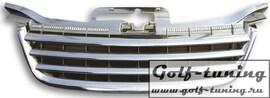 VW Touran 03-06 Решетка радиатора без значка хром