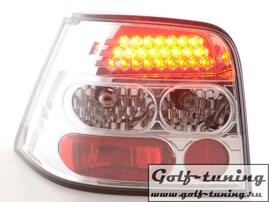 VW Golf 4 Фонари светодиодные, хром