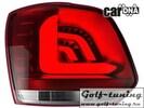 VW Polo 6R 09-14 Фонари светодиодные, красно-белые