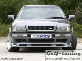 Audi 80 B4 91-94 Решетка радиатора без значка с сеткой