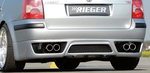 VW Passat B5+ Универсал Накладка на задний бампер