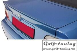 Skoda Octavia 2 04-12 Спойлер на крышку багажника