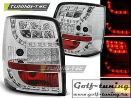 VW Passat B5 96-00 Универсал Фонари светодиодные, хром с светодиодным поворотником