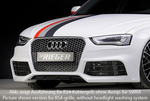 Audi A4/S4 11-15 Передний бампер под решетку A4/S4