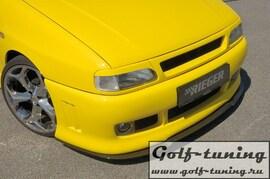 Seat Cordoba 6K/C 96-99, Seat Ibiza 6K 93-99 Решетка радиатора без значка с сеткой