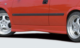 Opel Astra G 3Дв Накладки на пороги