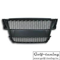 Audi A5 8T 07- Решетка без значка с сеткой