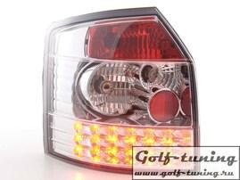 Audi A4 B6 01-04 Универсал Фонари светодиодные, хром