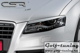 Audi A4 07-11 Реснички на фары