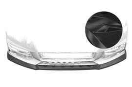 Audi A1 8X 15-18 Накладка на передний бампер Carbon look
