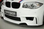 Карбоновый сплиттер для BMW E81-E88 для бамперов Rieger 35030/31/32/33/41/42