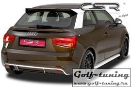 Audi A1 10-14 Накладка на задний бампер SF-Line design