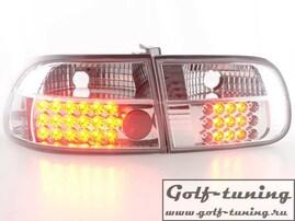 Honda Civic 92-95 3D Фонари светодиодные, хром