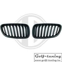 BMW F22/23 14-15 Решетки радиатора (ноздри) черные
