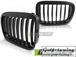 BMW E46 98-01 Седан/Универсал Решетки радиатора (ноздри) черные