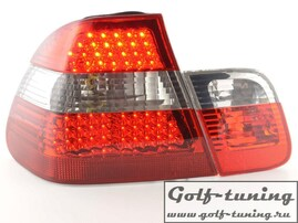 BMW E46 98-01 Седан Фонари светодиодные, красно-тонированные