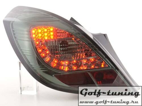 Opel Corsa D 3Дв 06-14 Фонари светодиодные, тонированные