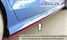 Audi A3 8V 11-16/16- Седан Накладки на S-line пороги