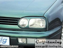 VW Golf 3 Накладки на фары