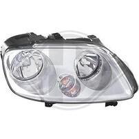 VW Touran 03-06/Caddy 04-10 Фары неоригинальные под галоген