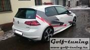 VW Golf 7 12- Накладки на пороги