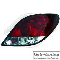 Peugeot 207 06-12 Фонари красно-белые