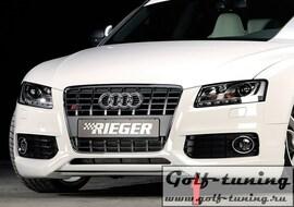 Audi S5 B8/B81 07-11 Купе/Кабрио Накладка на передний бампер