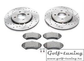 VW Lupo/Polo Комплект спортивных тормозных дисков и колодок