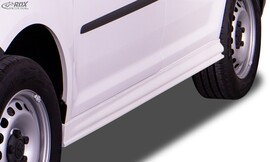 VW Caddy MAXI 2003-2020 Накладки на пороги edition