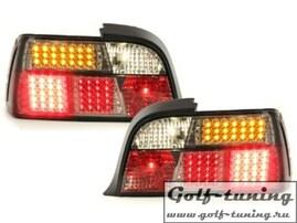 BMW E36 Купе Фонари светодиодные, тонированные
