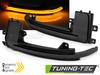 AUDI Q3/ A8/ A6 C6/ A5/ A4/ A3 Светодиодные динамические тонированные поворотники в корпус зеркала