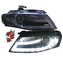 Audi A4 B8 08-11 Фары LIGHTBAR TAGFAHRLICHT под ксенон черные