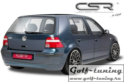 VW Golf 4 Хэтчбек Накладка на задний бампер