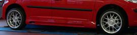 Peugeot 207 Накладки на пороги