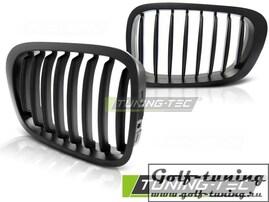 BMW E46 99-03 Купе Решетки радиатора (ноздри) черные