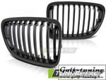 BMW X1 E84 09-12 Решетки радиатора (ноздри) черные, матовые