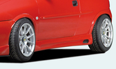 Opel Corsa B 5Дв Накладки на пороги