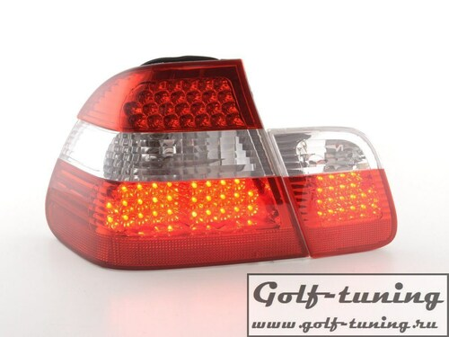 BMW E46 Седан Фонари светодиодные, красно-белые