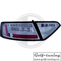 Audi A5 07-11 Фонари светодиодные, тонированные