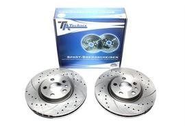 Citroen/Fiat/Lancia/Peugeot Комплект спортивных тормозных дисков