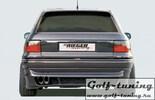 Opel Astra F 3Дв Накладка на задний бампер