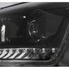 VW T5 GP 09-15 Фары в стиле T6 с бегающим поворотником черные piano black